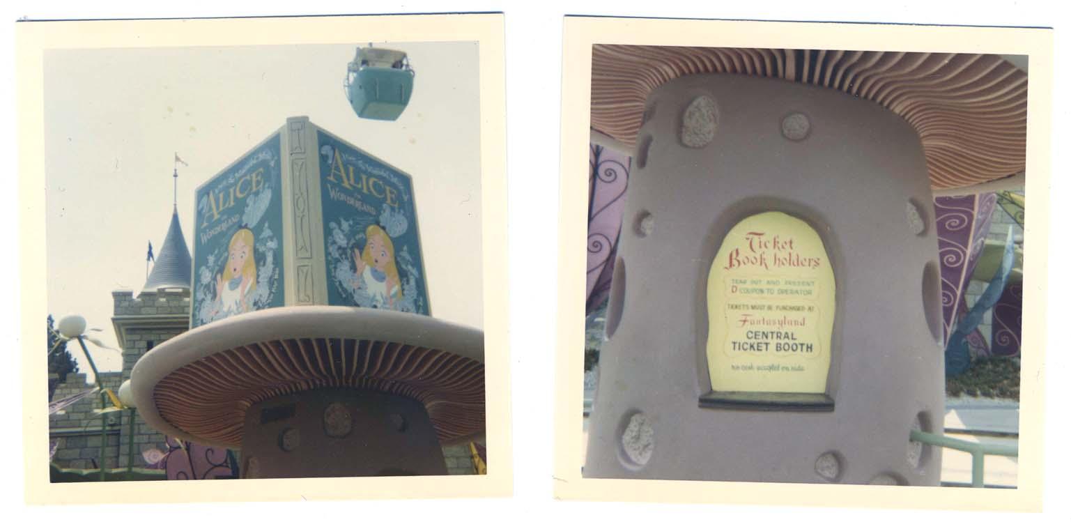 Ticket Booth Wonderland Alice in Wonderland Ticket
