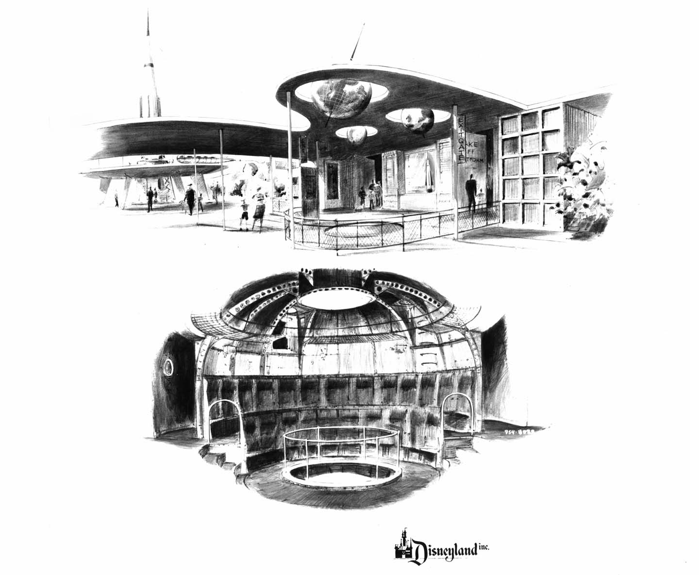 Futuristic Buildings Drawings Still Look Futuristic And