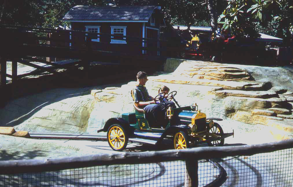 stuff from the park: Henry\'s Livery Ride Knott\'s Berry Farm 1961