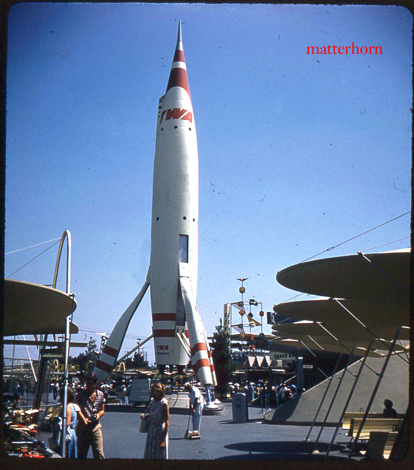 Rockets To The Moon: Stuff From The Park: The TWA Rocket To The Moon