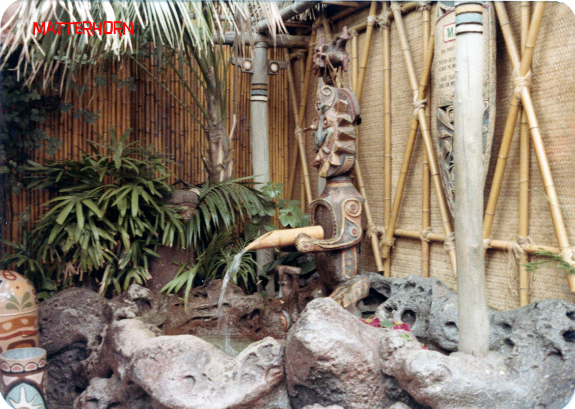 stuff from the park: Tiki Gardens 1970s
