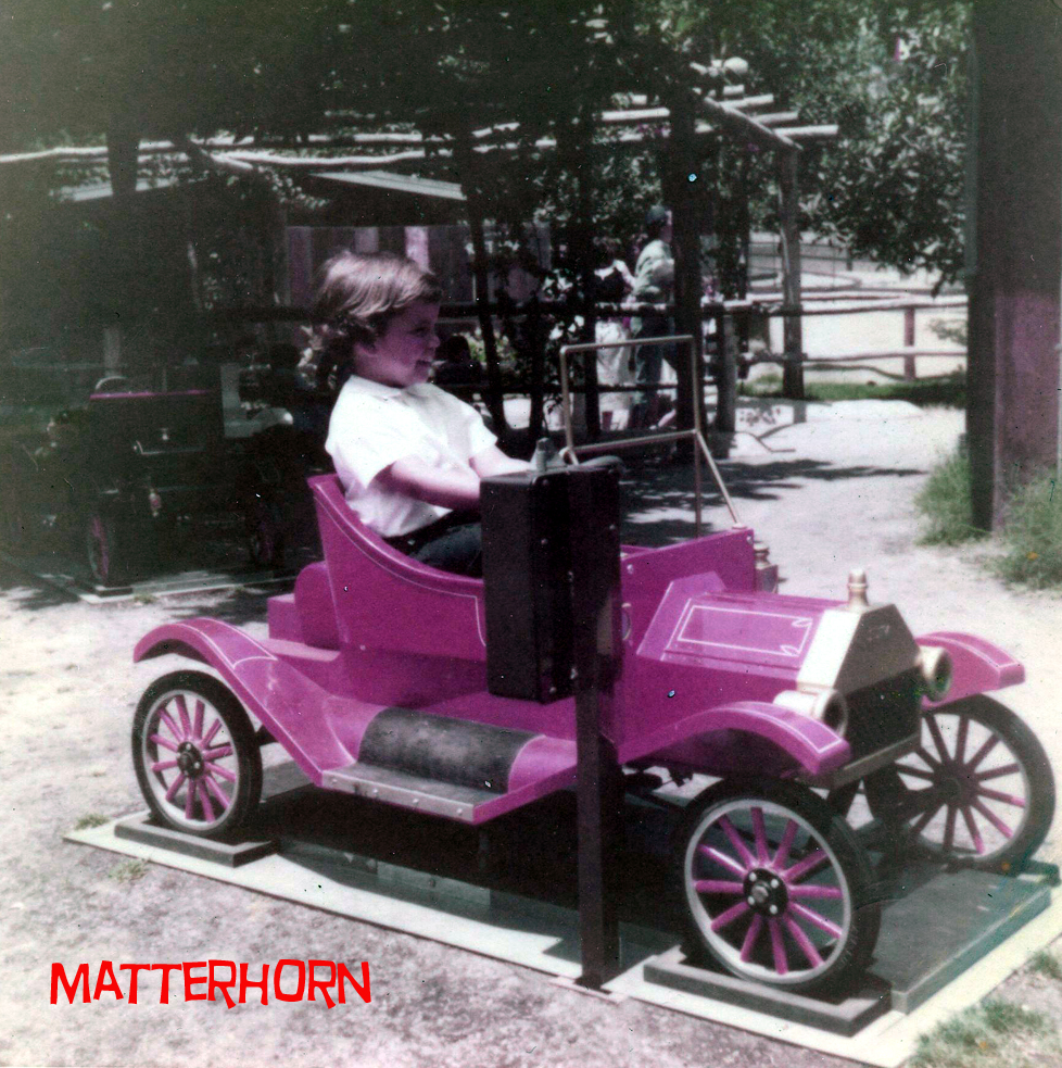 stuff from the park: Coin Operated Model T Rides