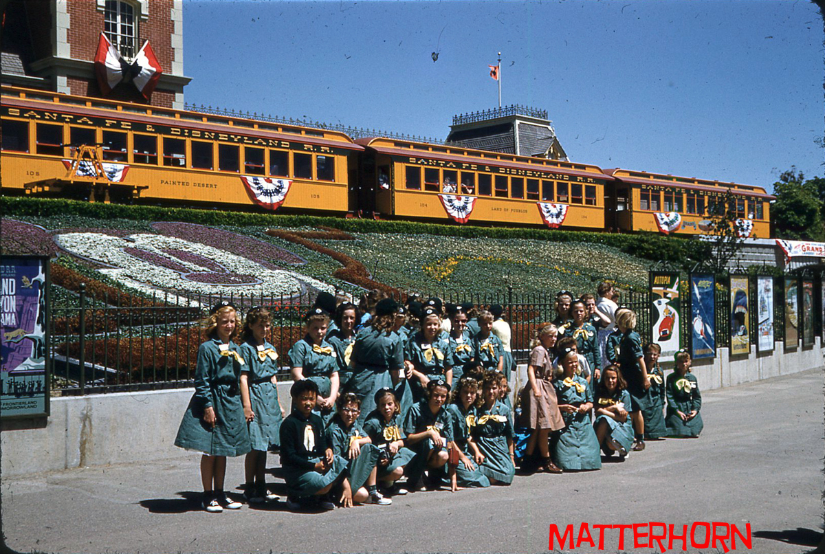 Stuff From The Park Girl Scouts At Disneyland 1958