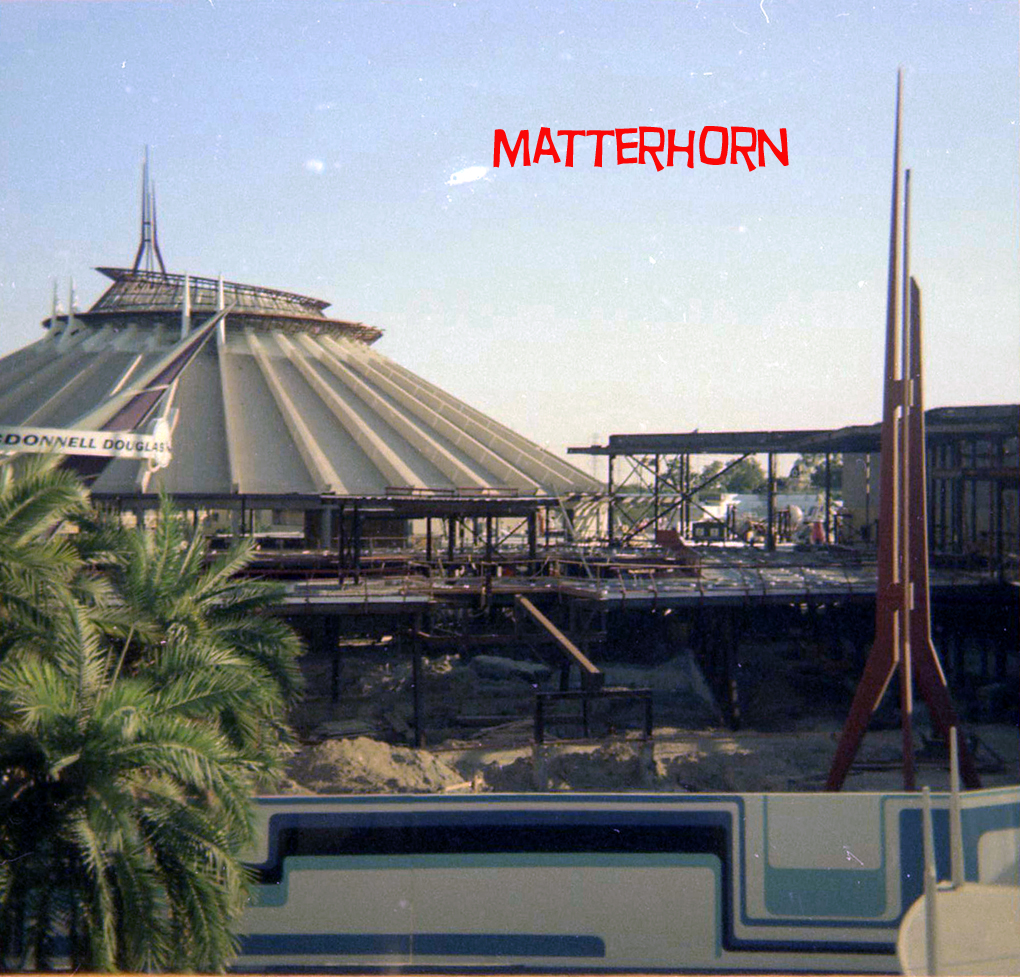 Space Mountain Mission 2 Model - Pics about space