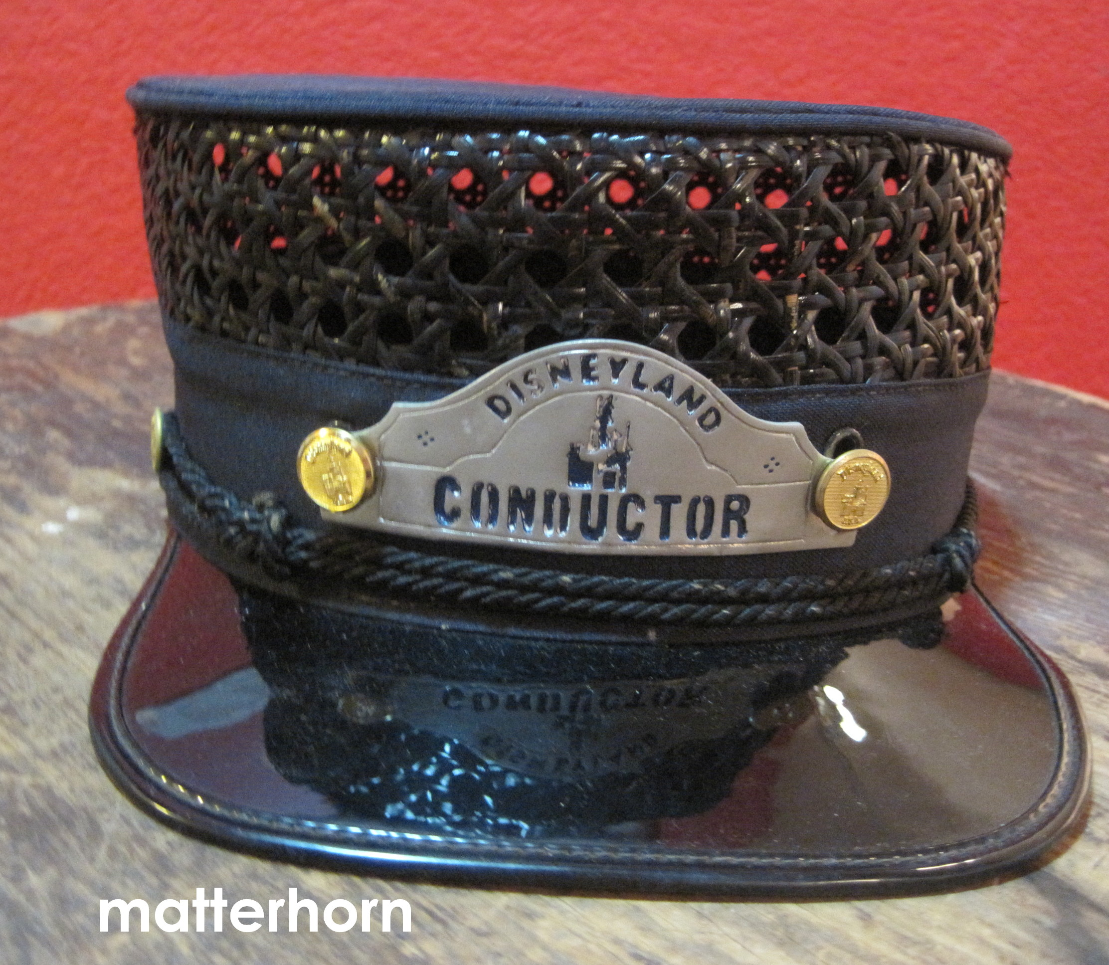Stuff From The Park Souvenir Friday Train Conductor Hat